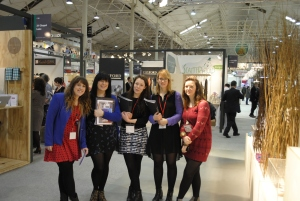 Textiles students Creative Expo
